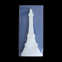 Photo1: 2-1 EIFFEL TOWER LETTER PAPER (BLUE)