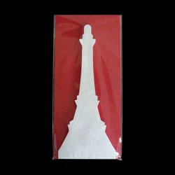 Photo1: 2-2 EIFFEL TOWER LETTER PAPER (RED)