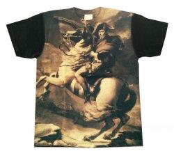 Photo1: #acrophobia-t001 Napoleon Bleaching Print T-shirts