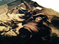 Photo2: #acrophobia-t001 Napoleon Bleaching Print T-shirts